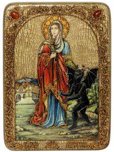 Икона Марина (Маргарита) Антиохийская камни