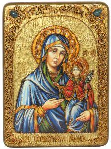 Икона Праведная Анна с камнями