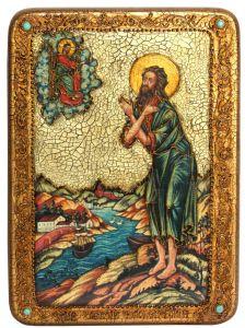 Икона ручной работы Алексий Человек Божий