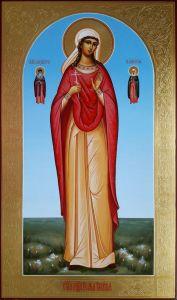 Мерная икона Пелагея Пелагия Тарсийская