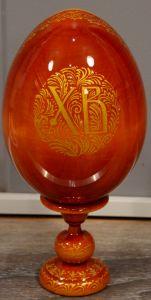 Пасхальное яйцо рукописное Казанская икона 2