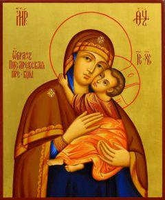 Рукописная икона Писаревская