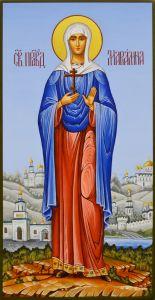 Рукописная икона Мариамна