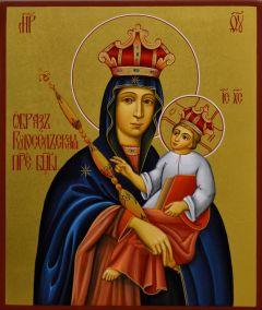 Рукописная икона Рудосельская