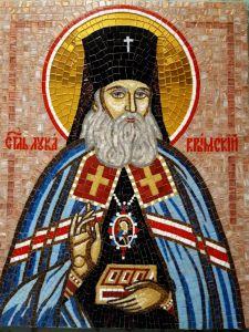 Икона из мозаики Лука Крымский