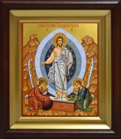 Рукописная икона Воскресение Христово 8