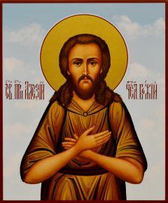 Рукописная икона Алексий Человек Божий 6