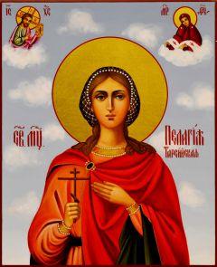 Рукописная икона Пелагея Тарсийская 7