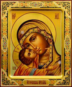 Рукописная икона Игоревская 3
