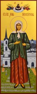 Мерная икона Ксения Петербургская 3