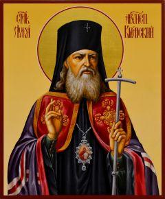 Рукописная икона Лука Крымский 10 (Размер 17*21 см)
