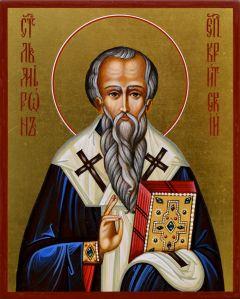 Рукописная икона Мирон Критский