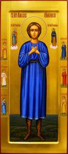 Рукописная мерная икона Маркелл Маккавей