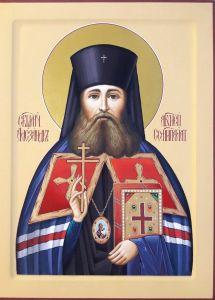 Рукописная икона Александр Щукин Семипалатинский