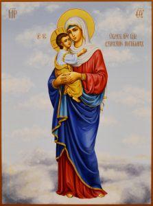 Рукописная икона Взыскание Погибших 7