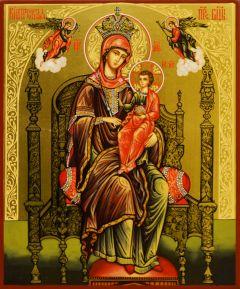 Рукописная икона Кипрская