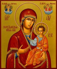 Рукописная икона Нямецкая Новонямецкая