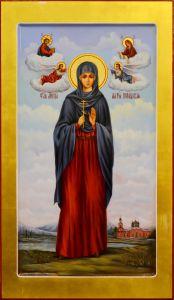 Мерная икона Мария Персидская масло
