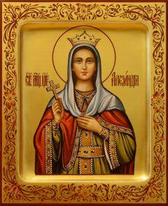Рукописная икона Александра Римская 3