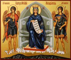 Рукописная икона Магаданская