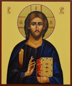 Рукописная икона Спас Вседержитель 72