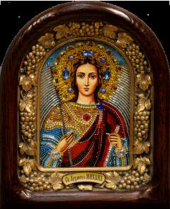 Икона из бисера Архангел Михаил 3