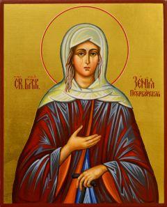 Рукописная икона Ксения Петербургская 13