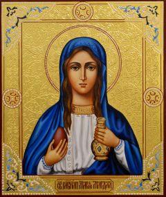 Рукописная икона Мария Магдалина 12 (Размер 17*21 см)