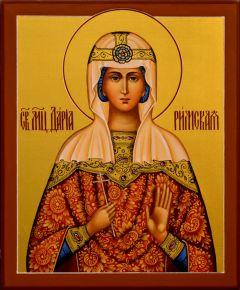 Рукописная икона Дарья Дария Римская 3