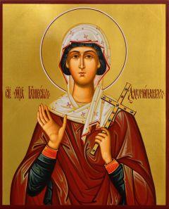Рукописная икона Гликерия Адрианопольская