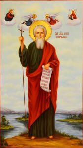 Мерная икона Андрей Первозванный масло 2