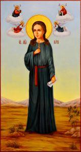Мерная икона Вера Римская масло