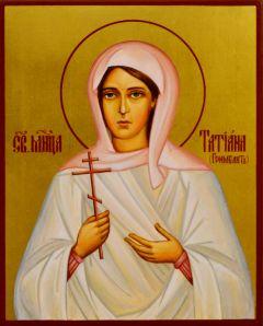 Рукописная икона Татьяна Гримблит