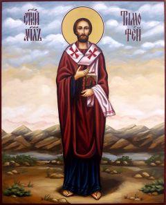 Рукописная икона Тимофей Апостол