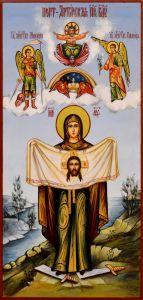 Рукописная икона Порт-Артурская 3
