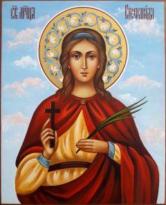 Рукописная икона Стефанида Дамасская 3