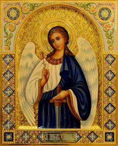 Рукописная икона Ангел Хранитель 122 (Размер 22*28 см)