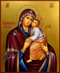 Рукописная икона Вольнянская
