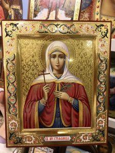 Рукописная икона Стефанида Дамасская 4