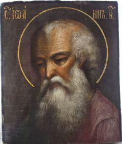 Рукописная икона Иоанн Богослов 5