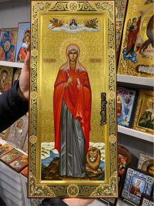 Рукописная мерная икона Дария Римская