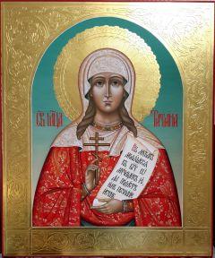 Рукописная икона Татьяна Татиана Римская 24