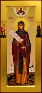 Мерная икона София Суздальская