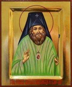 Рукописная икона Иоанн Шанхайский 2 (Размер 17*21 см)