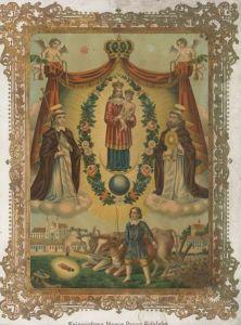Рукописная икона Гидлянская (Гидельская) Божия Матерь