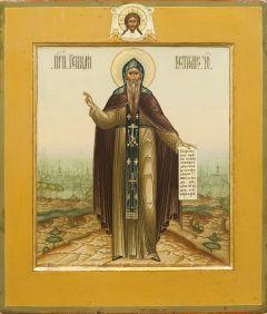 Рукописная икона Геннадий Костромской