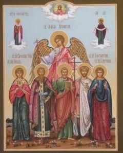 Рукописная семейная икона 20