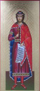 Мерная икона Глеб