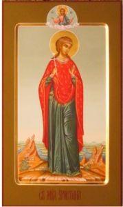 Мерная икона Кристина (Христина)
