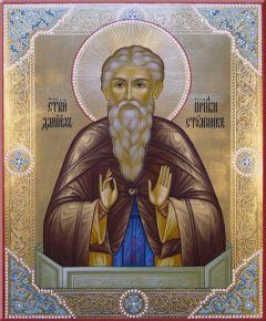 Рукописная икона Даниил Столпник
